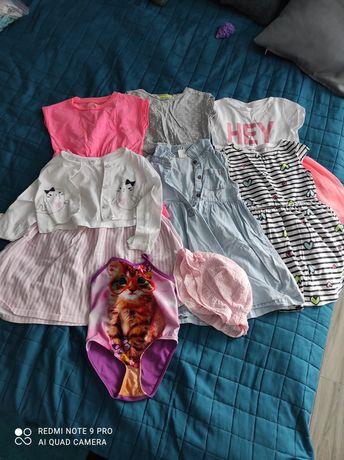 Zestaw letnich sukienek dziewczecych