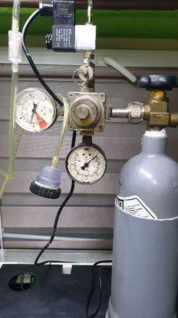 Butla CO2 2.8 kg 2L - kompletny zestaw do akwarium