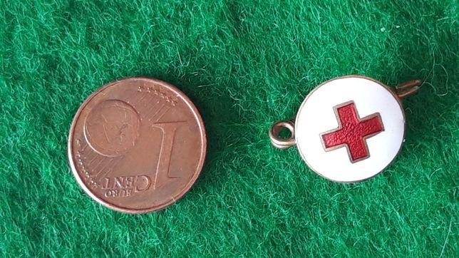 Cruz vermelha pregadeira, alfinete militar