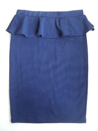 синяя юбка карандаш Кира Пластинина Kira Plastinina