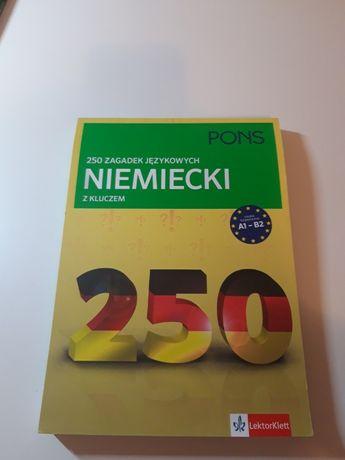 250 zagadek językowych NIEMIECKI z kluczem PONS