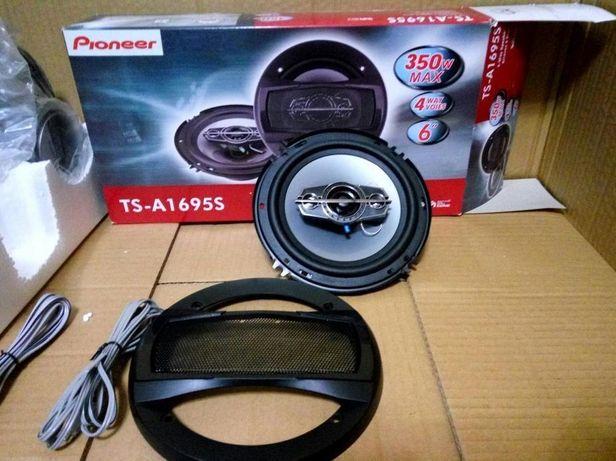 """Автомобильная акустика Pioneer 16 см 6"""" 350 ват колонки динамики 10/13"""