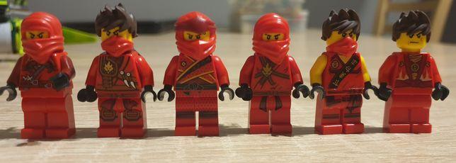 Klocki lego figurki ludziki minifigurki ninjago kai czerwony ninja nrg