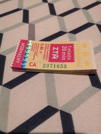 Bilety ZTM 3,40 zł