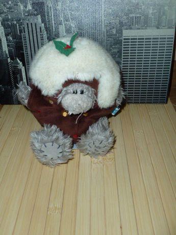 Классный мишка Тедди в костюме новогоднего пирожного
