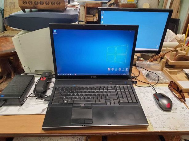 "Продам ноутбук Dell Precision M6400 Q9300 2.5 8gb ddr3 17.3"" full hd"