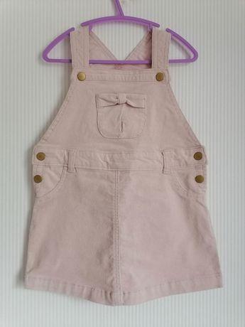 Sukienka sztuks szelki różowa 3 latka r 98