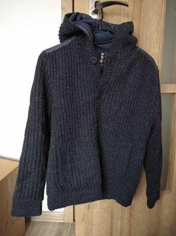Wełniany ocieplany sweter Rebel 152