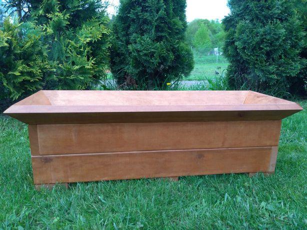 donice drewniane, donica, skrzynka, meble ogrodowe z drewna olchowego