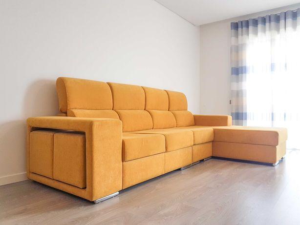 Sofá familiar de 3 lugares + Chaise-long