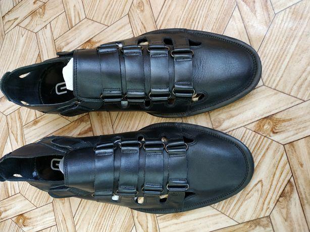 Мужские летние туфли EGO LINE (натуральная кожа) Польша. ОЛХ доставка