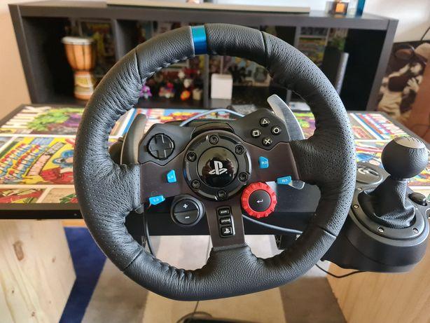 Volante Logitech G29 (PS4/PS5/PC) (TROCO)