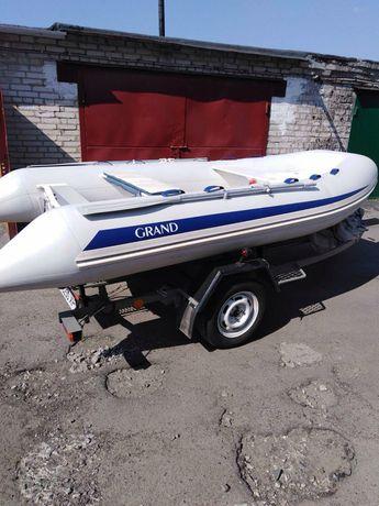 Лодка rib Grand 370s 2010+ лафет