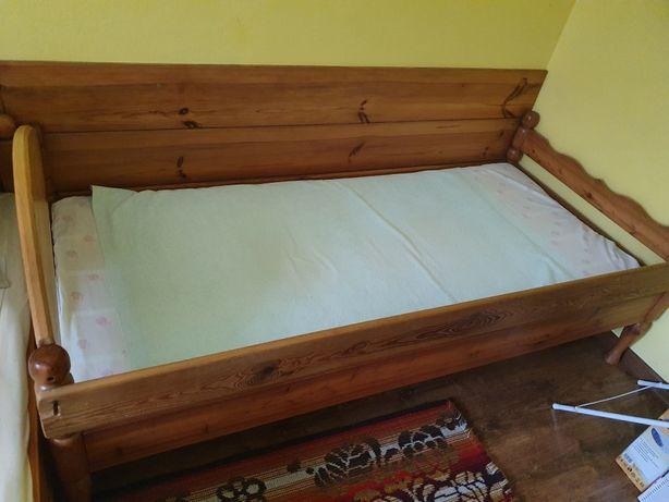 Łóżko z materacem 80x180