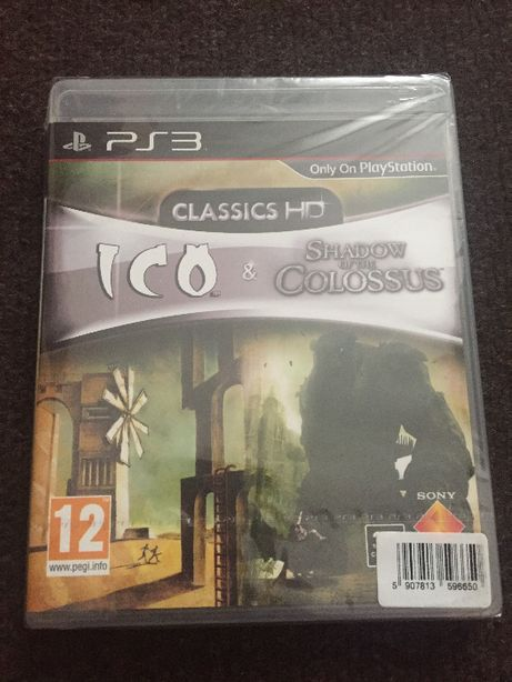 Ico & Shadow of the Colossus Collection PS3 NOWA stan idealny - unikat