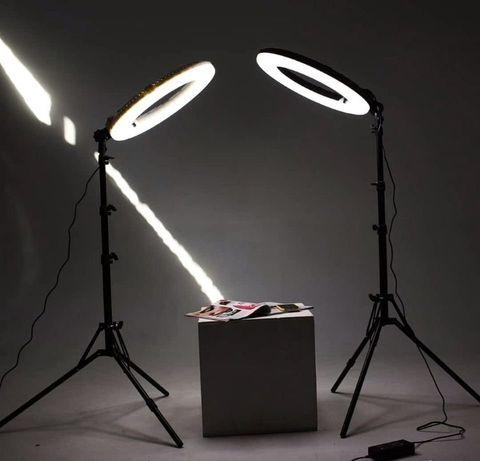 Кольцевая лампа 45 см Полный комплект кольцевой свет купить Украина