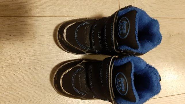 Buty chłopięce zimowe wysokie