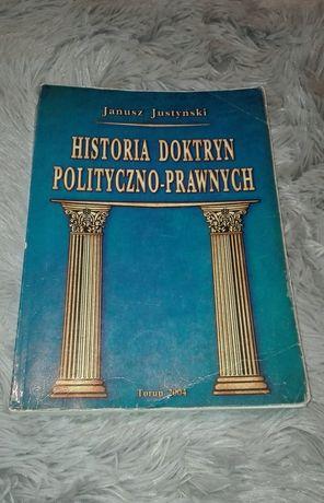 J. Justyński, Historia doktryn polityczno-prawnych, podręcznik
