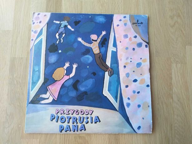 """Płyta winylowa """"Przygody Piotrusia Pana"""", bajka muzyczna, 1978"""