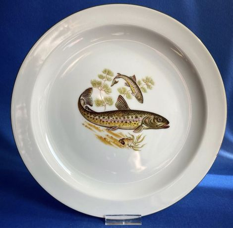 Рыбная серия. Коллекционные тарелки