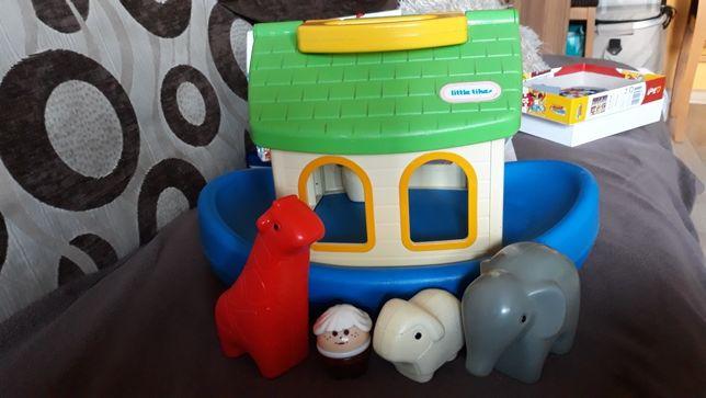 Arka noego łódka  ze zwierzętami little tikes