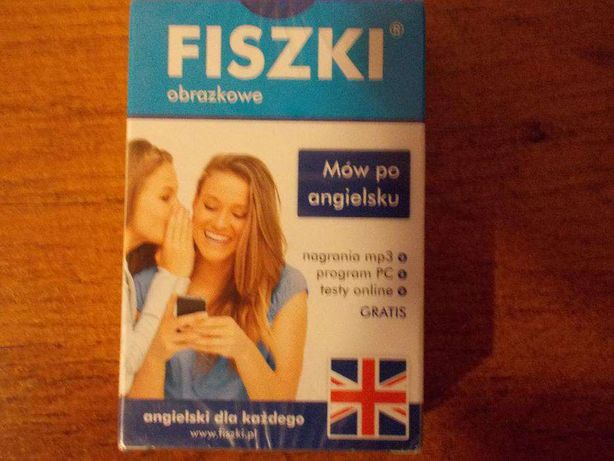Fiszki obrazkowe Język angielski