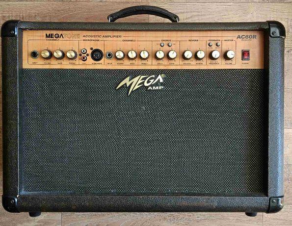 Wzmacniacz Mega Amp AC60R gitara akustyczna