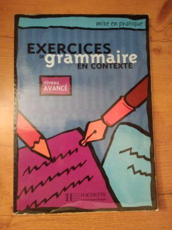 Zeszyt ćwiczeń francuski Exercices de grammaire en contexte Hachette