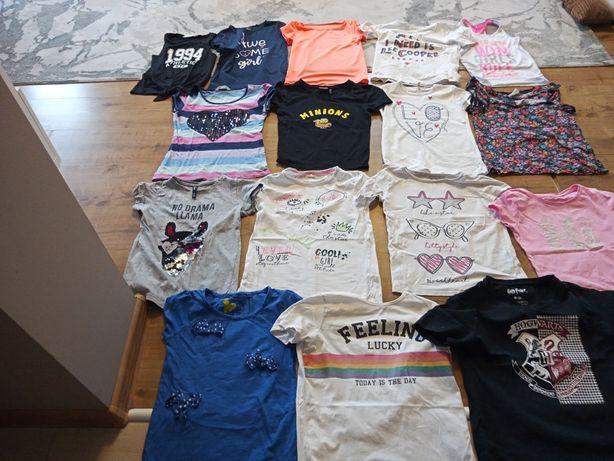 ubrania dla dziewczynki 134