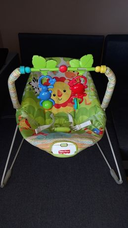 Leżaczek bujaczek Fischer Price dla niemowląt