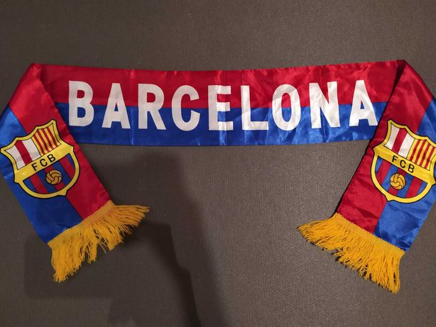 Шарф Барселона Ла Лига Испания Каталония роза фанатский