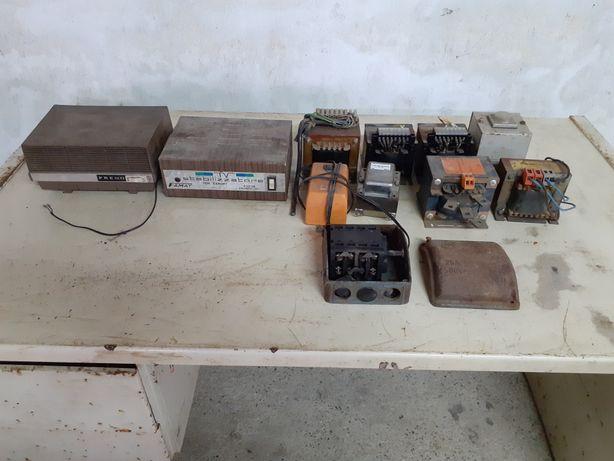 Transformadores e retificador de corrente