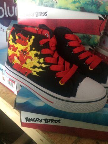Wysokie trampki za kostkę Angry Birds