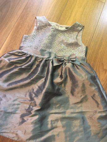 Sukienka dla dziewczynki wizytowa 104/110