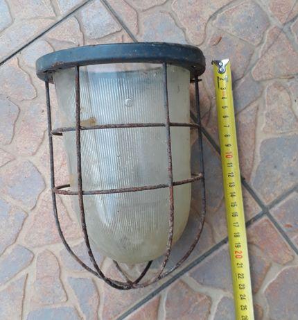 Плафон для уличного фонаря светильника СССР