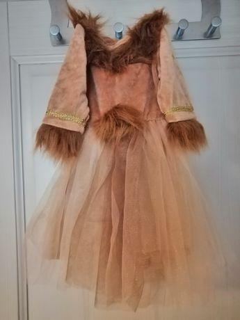 Sukienka, lwica, na przebranie