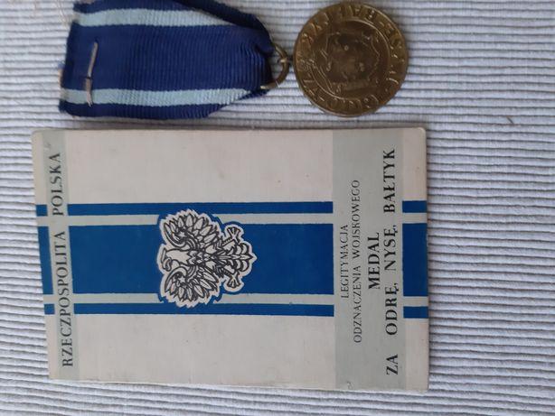 Medal Za Odrę,Nysę,Bałtyk