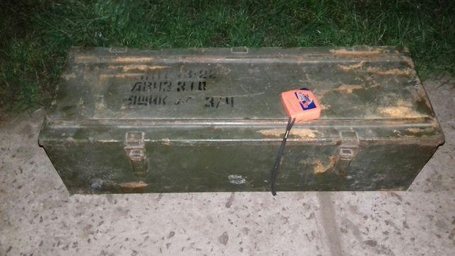Ящик цинк военный