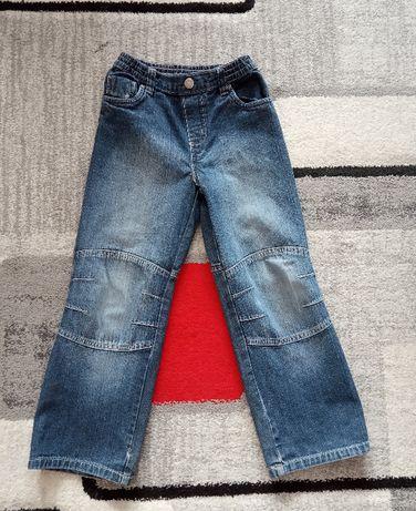 Spodnie r.116/122 spodnie Jeansowe dla chłopca