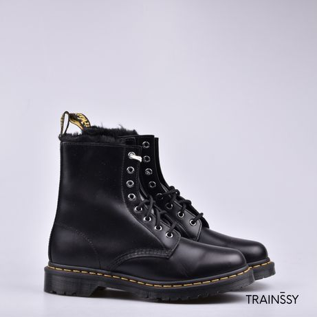 Ботинки оригинал! 1460 Serena dark grey, 26238021, 5-6 US размер