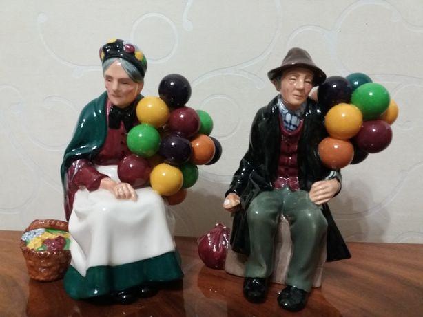 Пара продавцы шаров Англия Royal Doulton
