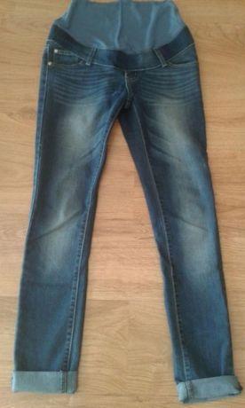 Spodnie jeansy ciążowe r M