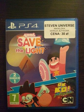 Steven Universe Save the Light + OK KO! Let's Play Heroes   2 GRY PS4