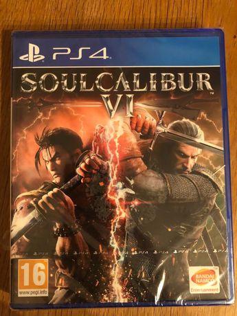 Soul calibur VI, PS4, wiedzmin, soulcalibur