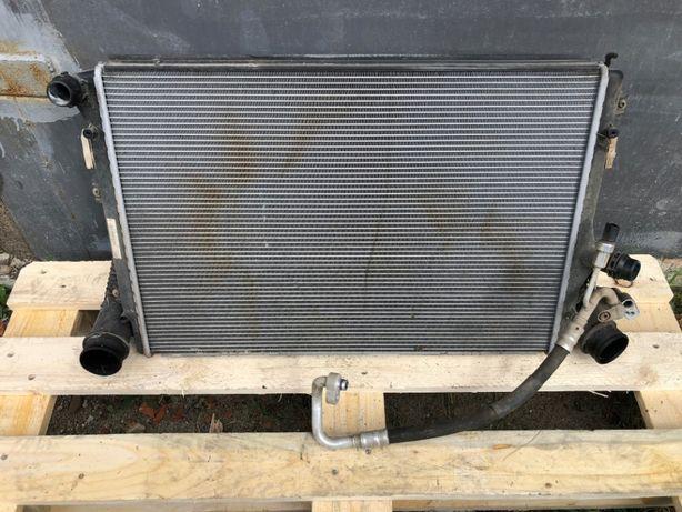 Радиатор Кондиционера Интеркулер Основной Volkswagen Skoda росходомір