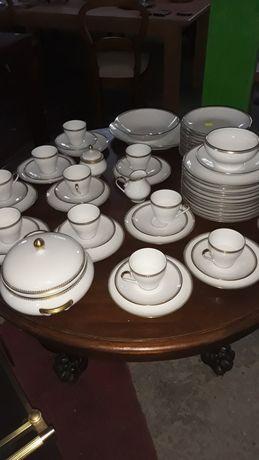 Porcelana zestaw obiadowy zestaw kawowy
