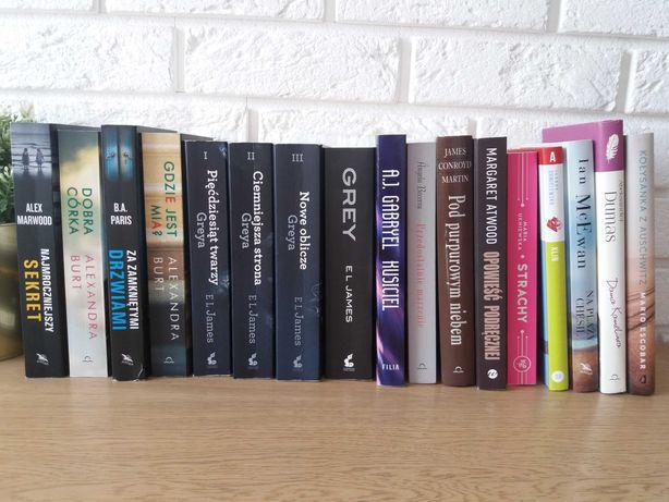 Książki różne tytuły wyprzedaż biblioteczki