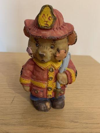 Miś strażak-figurka kolekcjonerska