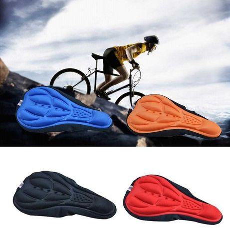Almofada assento selim de bicicleta