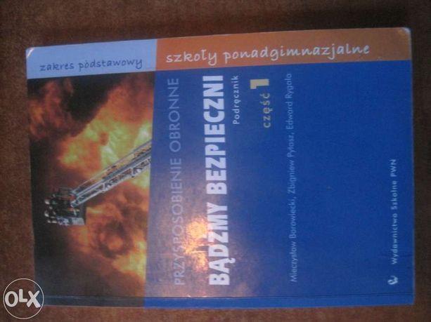Bądźmy bezpieczni Podręcznik 1 Przysposobienie obronne PWN Borowiecki